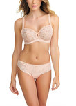 Sienna Vertical Seam Bra Tea Rose