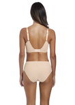Illusion Side Support Bra Natural Beige