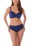 Illusion Side Support Bra Navy