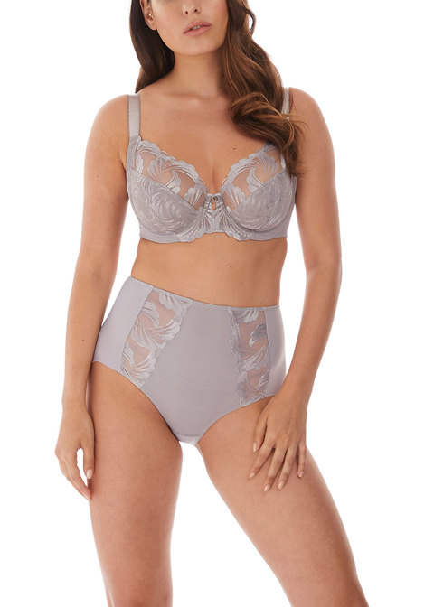 Fantasie Lingerie Anoushka Underwired Side Support Plunge Bra Red 3212