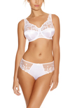 Belle Full Cup Bra White