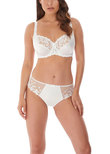Belle Balcony Bra White