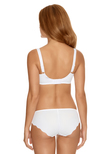 Alex Side Support Bra White