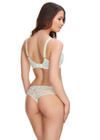 Jacqueline Lace Full Cup Bra Ivory