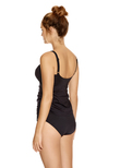 Versailles Underwire Tankini Top Black