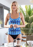 Tuscany Underwire Tankini Top Ink