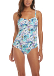 Fiji Underwire Tankini Top Multi