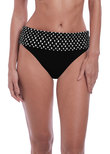 Santa Monica Adjustable Bikini Brief Black & White