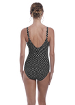 Santa Monica Underwire Swimsuit Black & White