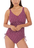 Santa Monica Underwire Swimsuit Garnet