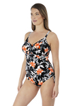 Port Maria Underwire Swimsuit Black
