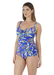 Burano Underwire Tankini Top Pacific